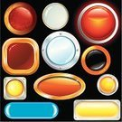 Interface Icons,Push Button,Keypad,Ellipse,Icon Set,Retro Revival,Pushing,Shiny,Grunge,Glass - Material,Square Shape,Old-fashioned,Shape,Blank,Circle,Sign,Wide,Red,Luxury,Computer Icon,Reflection,Techno,Modern,Orange Color,Plastic,Yellow,Collection,Technology,Computers,Design,Variation,Vector,Isolated,Illustrations And Vector Art,Vector Icons,Set,Ilustration,Banner,No People,Design Element