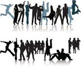 Student,Silhouette,People,Lifestyles,People In The Background,Group Of People,Crowd,citizens,Young Men,Men,Vector,Unrecognizable Person,Standing,City Life,Modern,Public Building,Illustrations And Vector Art,People,Black Color,Ilustration,Number of People,Women,Only Young Men,Large Group Of People