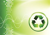 Recycling,Environmental Conservation,Backgrounds,Arrow Symbol,Abstract,Glowing,Light - Natural Phenomenon,No People,Green Color