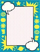 Comic Book,Backgrounds,Frame,Speech Bubble,Playful,Spotted,Simplicity,Saturn,Stationary,Planet - Space,Pattern,Star Shape,Multi Colored,Greeting Card,Asterisk,Boundary,Cloud - Sky,Swirl,Copy Space,Arts Symbols,Ilustration,Arts And Entertainment,Illustrations And Vector Art,Exclamation Point,Vector Backgrounds,Design,Vector