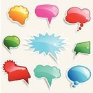 Speech Bubble,Bubble,Balloon,Symbol,Star Shape,Shiny,Vector,Illustrations And Vector Art