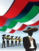 Mariachi Band,Mexico,Mariachi (Mexican),Mexican Culture,Musical Band,Cinco De Mayo,Silhouette,Party - Social Event,Sombrero,Mexican Flag,Vector,Orchestra,Trumpet,Musician,Music,Guitar,Tijuana,Nightclub,Serenading,Violin,Unrecongnizable Person,spanish guitar,5 De Mayo,Mexican Independence,Number 6,Ilustration,Music Background,Muscial Instrument,Acoustic Guitar,Performing Arts Event,Love Song,music performance,on stage