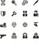 Symbol,Computer Icon,Police Force,Thief,Criminal,Icon Set,Judge - Law,Law,Black Color,Handcuffs,Justice - Concept,Security Camera,Camera - Photographic Equipment,Pirate,Surveillance,Officer,Gun,Architectural Column,Mask,Crime,Human Skull,Courthouse,Bullet,One Person,Prisoner,Gavel,People,Shield,White,Handgun,Computer Graphic,Black And White,Series,Cross Shape,Collection,Isolated,Industry,Dagger,Clip Art,Isolated On White,Vector Icons,Isolated-Background Objects,Magnifying Glass,Design,Design Element,Illustrations And Vector Art,Isolated Objects,Law Enforcement And Crime,White Background