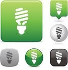 Light Bulb,Compact Fluorescent Lightbulb,Lighting Equipment,Light - Natural Phenomenon,Symbol,Efficiency,Energy,Electric Lamp,Computer Icon,Environment,Green Color,Vector,Icon Set,Black Color,Fuel and Power Generation,Modern,Interface Icons,Gray,Environmental Conservation,Sparse,Ilustration,Nature,Global Warming,Computer Graphic,White,Simplicity,Clip Art,Digitally Generated Image,Reflection,save the planet,White Background,Design Element,Collection,Silver Colored,Design,Shiny