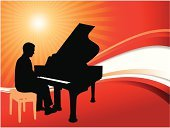 Piano,Classical Music,Music,Red,Silhouette,Men,Abstract,Sun,Stool,Sunset,Back Lit,Tropical Music,Chair,Sitting,Key,Pop,Vector,Playing,Concepts And Ideas,Illustrations And Vector Art,White,Vibrant Color,Backgrounds,Sunrise - Dawn,Yellow,Musical Instrument,Performance,Sunlight,Pop Musician,Music,Digitally Generated Image,Vitality,Arts And Entertainment,Orange Color,Bright,Performing Arts Event,Wave Pattern,Ilustration,Male,Brightly Lit