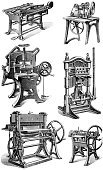 Printing Press,Printing Out,Print,Old-fashioned,Engraving,Engraved Image,cmyk,Machinery,Newspaper,Press Room,Printout,Conveyor Belt,Factory,Manufacturing Equipment,Working,lithographic,Control Panel,Obsolete,Industry,Machine Part,Manufacturing,Equipment,post-processing,Industrial Objects/Equipment,Objects/Equipment,Industry,Publisher,Medicine And Science,Control,Publication