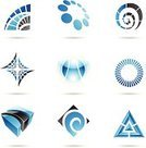 Sign,Shape,Circle,Abstract,Triangle,Symbol,Spiral,Design Element,Design,Spider Web,Cube Shape,Square Shape,Blue,Icon Set,Curve,Vector,Computer Graphic,Transparent,Single Line,Striped,Geometric Shape,Insignia,Set,Black Color,Shiny,Ilustration,Vector Icons,Vector Cartoons,Arts And Entertainment,Illustrations And Vector Art,Arts Abstract