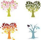 Tree,Four Seasons,Season,Four Objects,Heart Shape,Symbol,Love,Autumn,Leaf,Computer Icon,Bird,Vector,Cartoon,Icon Set,Flower,Green Color,Springtime,Blossom,Development,Creativity,Winter,Ideas,Drawing - Art Product,Art,Orange Color,Summer,Ilustration,Flower Head,Nature,Action,Ornate,Pink Color,Romance,Blue,Nature Symbols/Metaphors,Vector Icons,Feelings And Emotions,Concepts And Ideas,Painted Image,Illustrations And Vector Art,Nature