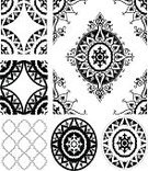 Moroccan Culture,Pattern,Design,Scroll Shape,Victorian Style,Decoration,Cultures,Ornate,Vector,Black Color,Classical Style,Old-fashioned,Outline,Abstract,Collection,Ilustration,Isolated Objects,Nature Abstract,Nature,Vector Ornaments,isolated object,Composition,Set,Illustrations And Vector Art