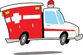 Ambulance,Cartoon,Emergency Services,Car,Land Vehicle,First Aid,Vector,Healthcare And Medicine,Medicine,Drawing - Art Product,Beauty And Health