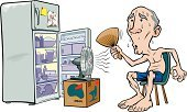 Air Conditioner,Heat - Temperature,Sweat,Refrigerator,Cartoon,Electric Fan,Cold - Termperature,Summer,Overheated,One Person,Temperature,Vector,Blowing,Wind,Uncomfortable,Physical Pressure,Major Household Appliance,Clip Art,Box - Container,Magnet,Drawing - Art Product,Domestic Kitchen,Eggs,Appliance,Chair,Environment,Male,Beat The Heat,Color Image,keep cool,Computer Graphic,oscillating,Shorts,Illustrations And Vector Art,Vector Cartoons,Household Objects/Equipment,Isolated On White,Child's Drawing,Distraught,People,Fridge Magnet,Objects/Equipment,Food And Drink,Vehicle Door,Climate,Ilustration