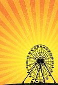 Ferris Wheel,Traveling Carnival,Agricultural Fair,Amusement Park Ride,Circus,Amusement Park,Vector Backgrounds,Illustrations And Vector Art