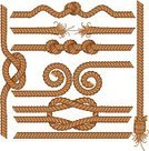 Rope,Tied Knot,Frame,String,Tying,Reef Knot,Vector,Tassel,Straight,Tug-of-war,Broken,In A Row,Hemp,Old,Seamless,Figure of Eight Knot,Twisted,Bent,Curve,Design Element,Strength,Connection,Isolated,Part Of,Swirl,Vector Ornaments,Tightrope,Isolated-Background Objects,Isolated On White,Set,Illustrations And Vector Art,Isolated Objects,Objects/Equipment