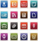Office Interior,Symbol,Computer Icon,Icon Set,Stapler,Rubber Stamp,Book,Collection,Calculator,Series,White,Office Supply,Colors,Computer Graphic,Interface Icons,Label,Chair,Note Pad,File,ID Card,Personal Organizer,Document,Paper Clip,Paper,Thumbtack,Clock,Envelope,Business Symbols/Metaphors,Business,Ring Binder,White Background,Suitcase,Clip Art,Briefcase,Clip,Recycling Bin,Calendar,Isolated,Concepts And Ideas,Garbage Can