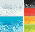 Backgrounds,Winter,Four Seasons,Autumn,Summer,Pattern,Black Color,Season,Green Color,Symbol,Spray,Splattered,Springtime,Blue,Grunge,Red,White,Vector,Scroll Shape,Vibrant Color,No People,Multi Colored,Yellow,Ornate,Calligraphy,Elegance,Ilustration,Floral Pattern,Colors,Growth,Design,Color Image,Swirl,Old-fashioned,Victorian Style,Decoration,Computer Graphic,Digitally Generated Image