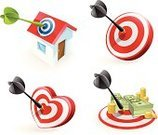 Target,Aspirations,Dart,Bull's-Eye,Darts,Love,Heart Shape,Marketing,House,Family,Real Estate,Dartboard,Currency,Aiming,Scoreboard,Three-dimensional Shape,Business,Finance,Sexual Activity,Scoring,Planning,Red,Sport,Wellbeing,Ideas,Strategy,Happiness,Dollar Sign,Arrow Symbol,Isometric,Target Shooting,Coin,Achievement,Dollar,Circle,Choice,Concentric,Accuracy,Success,Midsection,Concepts And Ideas,Isolated Objects,Isolated,Illustrations And Vector Art,Close-up,Inspiration,Blue,projectile,Hitting Target