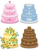Cake,Wedding Cake,Birthday Cake,Baking,Vector,Icing,Chocolate Cake,Food,Savory Food,Pastry,Baked,Cheesecake,Ilustration,Isolated Objects,Baking,Isolated-Background Objects,Vector Cartoons,Illustrations And Vector Art,Sweet Food,Dessert,Snack,Indulgence,Joy,Food And Drink