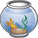 Fish,Aquarium,Cartoon,Fish Tank,Goldfish,Pets,Glass - Material,Pet Equipment,Plant,Water,Water Plant,Gold Colored,Glass Bowl,Rock - Object,Cat Food,Small,Transparent,Seaweed,wiggle,clear water,Pond Fish,Fish In A Bowl,Lifestyle,Animals And Pets,Pebble,Bubble,Blue,Happiness,Cheerful,Characters,Swimming,Babies And Children,stagnant water,Waving Hello,fish food,Plastic Plants,Illustrations And Vector Art,Vector Cartoons,Sea Life,clean water,Animal Fin,Fun,Tail Fin,Playful,Freshwater Fish,Greeting,Swimming Animal