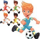 Child,Soccer,Sport,Cartoon,Little Boys,Playing,Characters,Shoe,Humor,Vector,Exercising,Family,Vitality,Ball,Facial Expression,Comic Book,Group Of People,Courage,Brother,Color Image,Cute,Dress,Pants,Illustration Technique,Illustrations And Vector Art,Sports And Fitness,Fun,Smiley Face,Vector Cartoons,Son,Sports Team,Energy,Remote,Lifestyle,Teens