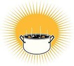 Cooking Pan,Stew,Steam,Charity and Relief Work,Food,Corn,Abundance,Hungry,Heat - Temperature,Time,People,aciculum,Yellow,Concepts And Ideas