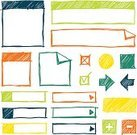 Scribble,Frame,Design Element,handdrawn,Sketch,Arrow Symbol,Circle,Doodle,Plus Sign,Square Shape,Drawing - Art Product,Rectangle,Label,Banner,Hand-drawn,Orange Color,Colors,Vector,Red,Green Color,Color Image,Multi Colored,Set,Folded,Ilustration,Minus Sign,Pen And Marker,Blue,Yellow,Squiggle,Felt Tip Pen,hand drawn,Collection