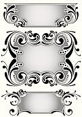 Banner,Silver Colored,Placard,Frame,Label,Old-fashioned,Retro Revival,Vector,Elegance,Black Color,Ornate,Baroque Style,Scroll Shape,Swirl,Flower,Antique,Sign,Classical Style,Design,Insignia,Plan,Old,Silhouette,Rococo Style,Victorian Style,Luxury,Decoration,Single Line,Computer Graphic,Abstract,Curve,Symmetry,Design Element,Part Of,Spotted,Clip Art,Color Gradient,Vector Backgrounds,Arts And Entertainment,Gray,Set,Art,Illustrations And Vector Art,Arts Abstract,Vector Ornaments,Isolated,1940-1980 Retro-Styled Imagery,Spiral,Outline,Ilustration,Angle