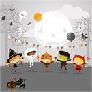 Halloween,Child,Party - Social Event,Autumn,Costume,Cartoon,Cute,Backgrounds,Witch,Candy,Domestic Cat,Little Girls,Vector,Childhood,Pumpkin,Dancing,Cheerful,Ghost,Owl,Playing,Fun,Ilustration,People,Tree,Bunting,Little Boys,Frankenstein,Night,Jack O' Lantern,Mummified,Bat - Animal,Trick Or Treat,Balloon,Outdoors,Spooky,Jumping,Forest,Devil,Decoration,Celebration,Crow,Multi-Ethnic Group,Horror,Moon,Smiling,October,Playful,Baby Girls,Mystery,Party Hat,Joy,Full Moon,Babies And Children,Parties,Holidays And Celebrations,Fog,Halloween,Lifestyle