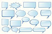 Discussion,Box - Container,Speech,Balloon,Speech Bubble,Cartoon,Gossip,Symbol,Thinking,Message,Blue,Communication,Shiny,Label,Frame,Empty,Set,Collection,Pattern