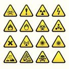 Danger,Warning Sign,Symbol,Warning Symbol,Sign,Computer Icon,Laser,Electricity,Error Message,Triangle,Toxic Substance,High Voltage Sign,Information Sign,Explosive,Security,flammable,Radiation,Medical Laser,Death,Lightning,caustic,Interface Icons,Set,Wave Pattern,Directional Sign,Rudeness,Staring,oxidant,Biological Hazard,Information Symbol,Technology,Technology Symbols/Metaphors,Vector Icons,Illustrations And Vector Art