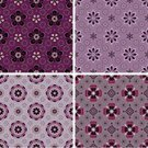 Pattern,Flower,Floral Pattern,Backgrounds,Seamless,Retro Revival,Purple,Old-fashioned,Vector,Modern,Repetition,Abstract,Brown,Classic,Design,Ornate,Blossom,Design Element,Ilustration,Decoration,Classical Style,Elegance,Medallion,Wallpaper Pattern,Gray,Petal,Vector Ornaments,Vector Florals,No People,Variation,Series,Illustrations And Vector Art,Vector Backgrounds