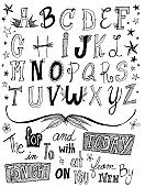 Doodle,Alphabet,Text,Typescript,Drawing - Art Product,Letter F,Letter S,Ornate,Single Word,Letter A,Letter C,Letter B,Letter I,Letter E,Ilustration,Letter M,Star Shape,Letter U,Letter L,Letter G,Letter T,Letter O,'at' Symbol,Letter N,hand drawn,Letter Y,Letter Q,Letter W,Letter X,Letter K,Black Color,Today,Letter P,Letter Z,Design Element,Letter J,Concepts And Ideas,Illustrations And Vector Art,Letter H,tonight,White,graphic element,Letter V,Decoration,Letter R,hand lettered,New