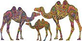 Camel,India,Embroidery,Egypt,Pattern,Africa,Family,Animal,Design,Mosaic,Indigenous Culture,Vector,Abstract,Animal Skin,Cultures,Decoration,Ancient,Old-fashioned,Animal Themes,Nature,Animals In The Wild,Herd,Wildlife,Contrasts,National Landmark,Animals And Pets,Concepts And Ideas,Spotted,Safari Animals,Wild Animals,Mammal,Illustrations And Vector Art,Vector Cartoons,Ilustration,Religion,Asia