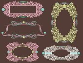 Frame,filigree,Paisley,Pink Color,Floral Pattern,Label,Ornate,Old-fashioned,Brown,Art Nouveau,Growth,Turquoise,Swirl,Scroll Shape,Elegance,Intricacy,Design Element,flourishes,Blue,Decoration,Antique,Vector,Part Of,Green Color,Abstract,Vector Florals,Spiral,Engraved Image,Illustrations And Vector Art,Squiggle,Acanthus Pattern,No People,Image Created 2000s,Leaf,Curve,Star Shape,Vector Ornaments,Beautiful,Vector Backgrounds,Clip Art,Ilustration