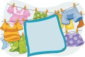 Clothesline,Laundry,Blanket,Clothing,Clothespin,Hanging,Design,Vector,Button Down Shirt,Boxer Shorts,Shorts,Design Element,Illustrations And Vector Art,Objects/Equipment,Vector Backgrounds,Household Objects/Equipment,Isolated,Clip Art,Ilustration,Cut Out,Freshness,Copy Space