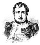 Napoleon Bonaparte,France,French Culture,History,Ilustration,Engraved Image,Men,Napoleonic Wars,Leadership,One Person,19th Century Style,Emperor,Dictator,Royal Person,Image Created 19th Century,Fine Art Portrait,Military Uniform,European Culture,Regency Style,General,Officer,Historical Document,Name Of Person,Only Men,People,Vertical,French Military,Period Costume,Steel Engraving,Arts And Entertainment