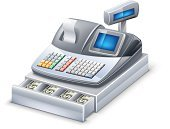 Cash Register,Paper Currency,Checkout,Box - Container,Computer Icon,Currency,Keypad,Dollar,Finance,Machinery,Push Button,Retail,Three-dimensional Shape,Service,Vector,Paying,Retail Display,Modern,Computer Monitor,Color Image,Looking At View,Blank,Business,Buying,Control Panel,Plastic,Front View,Metal,Black Color,Blue,Isolated,Side View,Vector Icons,Check - Financial Item,Technology,Control,US Currency,No People,Single Object,Computer Keyboard,Equipment,Gray,Retail/Service Industry,Industry,Close-up,Electronics,White Background,Shadow,Full,Illustrations And Vector Art
