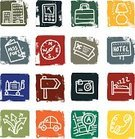 Hotel,Symbol,Travel,Icon Set,Map,Ticket,Sign,Business Travel,Airplane Ticket,Doodle,Camera - Photographic Equipment,Built Structure,Motel,Car,Set,Travel Destinations,Square,Compass,Grunge,Vacations,Suitcase,Building Exterior,Passport,Bed,Communication,Global Communications,Telephone,Pointer Stick,Guidance,Textured Effect,Lighting Equipment,Direction,Electric Lamp,Luggage Cart,Holidays And Celebrations,Holiday Symbols,Illustrations And Vector Art,Vector Icons,Design Element,Isolated On White,Sat Nav