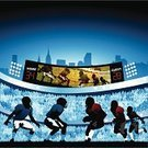 Football,American Football - Sport,Stadium,Scoreboard,Playing,Sport,Football Player,Silhouette,Liquid-Crystal Display,Digitally Generated Image,People,Crowd,Crowded,Youth Culture,Vector,Ilustration,Back Lit,Spectator,Urban Skyline,Audience,Sports Team,Team Sport,Teamwork,Sports Event,Passing,Running Back,Action,Men,Exercising,Quarterback,Competitive Sport,Group Of People,Defending,Offense,Wide Receiver - Athlete,Outdoors,Young Men,Illustrations And Vector Art,Clip Art,Competition,Defensive Wall,Team Sports,People,sold out,Sports And Fitness,Cut Out,Large Group Of People,Sunset