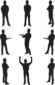 Silhouette,Men,Male,Arms Outstretched,Standing,Arms Raised,Posing,Looking At Camera,Storytelling,Presentation,Fist,Businessman,Side View,Vector,Arms Crossed,Success,Black Color,Pointing,Outline,Excitement,Achievement,Isolated,Ilustration,Showing,Multiple Image,Clip Art,Communication,Front View,Computer Graphic,Vector Graphics,Black And White,Hands In Pockets,Posture,Business Person,Legs Apart,Gesturing,White Background,Showing With Hands,Direction,Isolated On White,Digitally Generated Image