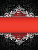 Scroll Shape,Red,Black Color,Banner,Paisley,filigree,Clip Art,Ornate,Art Nouveau,flourishes,Swirl,Decoration,Abstract,Curve,Old-fashioned,Squiggle,Cross Hatching,Spiral,Vector Ornaments,Image Created 2000s,Vector Florals,Illustrations And Vector Art,Acanthus Pattern,Design Element,Vector Backgrounds,Elegance,No People,Blank,Intricacy,Faded,Vector,Ilustration,Leaf,Engraved Image,Empty,Part Of,Copy Space