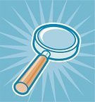 Magnifying Glass,Loupe,Searching,Glass - Material,Discovery,Lens - Optical Instrument,Surveillance,Scrutiny,Examining,Scientific Experiment,Vector,Looking,Ilustration,Eyesight,Exploration,Personnel,People,Medicine And Science,Illustrations And Vector Art
