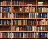 Bookshelf,Book,Library,Education,Indoors,Backgrounds,Blue,Ilustration,Contrasts,Vector,In A Row,Retro Revival,Wood - Material,Old,Black Color,Wisdom,Design,Old-fashioned,Green Color,Furniture,Macro,Style,Large Group of Objects,White,Colors,Industry,Education,Brown,Vector Backgrounds,Illustrations And Vector Art,Group of Objects,Grunge,Red,Computer Graphic,Dark