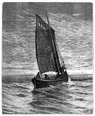 Nautical Vessel,Old,Fishing,Old-fashioned,Sea,Trawler,Fishing Boat,Sailing,Engraved Image,Ilustration,Antique,Skipjack,Sail,Image,Art,Sailing Ship,The Past,Fishing Industry,Illustration Technique,Recreational Boat,19th Century Style,Water,Vessel Part,Transportation,Lifestyle,Historical Ship,Victorian Style,History,Agriculture,North Sea,Image Created 19th Century,Mode of Transport,Industry,Industry