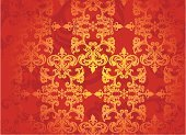 Silk,Orange Color,Pattern,Nobility,Brown,Backgrounds,Curtain,Autumn,Colors,Textured Effect,Seamless,Venice - Italy,Multi Colored,Renaissance,Baroque Style,Outline,Old-fashioned,Decoration,Wallpaper Pattern,Vector Backgrounds,Nature,Abstract,Floral Pattern,Architectural Revivalism,Painted Image,Antique,Ilustration,Vector,Part Of,Nature Backgrounds,Illustrations And Vector Art,Decor,Vector Florals