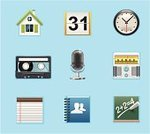 Symbol,Computer Icon,Icon Set,Application Software,widget,Smart Phone,Mobile Phone,Calendar,Address Book,Telephone,Answering Machine,House,Radio,Voice,Note Pad,Microphone,Clock,Vector,Audio Cassette,Dictaphone,Time,Friendship,Service,Ilustration,fm,Calendar Date,Voice-mail,Calculator,Electronic Organizer,Computer Software,Personal Data Assistant,Sound,Audio Equipment,Palmtop