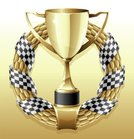 Trophy,Sports Race,Laurel Wreath,Cup,Winning,Competition,Symbol,Success,Award,Laurel,Flag,Number 1,Gold,Banner,Gold Colored,Vector,Scroll Shape,First Place,Achievement,Design,Sport,Design Element,Ribbon,Insignia,Decoration,Leaf,Vector Icons,Ilustration,Vector Ornaments,Shiny,Reflection,Illustrations And Vector Art