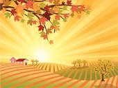 Farm,Vineyard,Landscape,Agriculture,Autumn,Field,Thanksgiving,Landscaped,Farmhouse,Backgrounds,Sunrise - Dawn,Four Seasons,Sun,Falling,Vector,Mountain,Season,Tree,Rural Scene,Ilustration,Leaf,Non-Urban Scene,Red Maple,Branch,Mountain Range,Abstract,Idyllic,Sky,Agricultural Activity,Maple Leaf,Sunlight,Swirl,No People,Land,Grass,Spiral,Beauty In Nature,Ornate,Plant,Curve,Design Element,Outdoors,Design Objects,autumn tree,Floral Pattern,Nature,Curled Up,Maple Tree,Lush Foliage