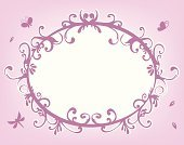 Frame,Flower,Floral Pattern,Victorian Style,Retro Revival,1940-1980 Retro-Styled Imagery,Pink Color,Circle,Composition,Print,Bubble,Elegance,Backgrounds,fansy,Beautiful,Vector,Funky,textbox,Symbol,Leaf,Design Element,Nature,Abstract,Color Image,Time,Computer Graphic,Nature,Plant,Horizontal,Concepts And Ideas