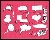 Speech,Comic Book,Ilustration,Speech Bubble,Doodle,Spotted,Thinking,Isolated Objects,Arts Symbols,Arts And Entertainment,Symbol,Sketch,Pencil Drawing,Concepts And Ideas