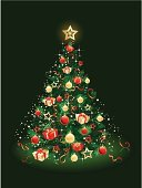 Christmas Tree,Christmas,Tree,Fir Tree,Gift,Green Color,Snow,Backgrounds,Ilustration,Gold Colored,Humor,Decoration,Christmas Decoration,Christmas Ornament,Vector,Cultures,Greeting,Banner,Holiday,Ornate,Pattern,White,Winter,Happiness,Branch,Painted Image,Red,Gift Box,Sphere,Snowflake,Pine Tree,Traditional Festival,Invitation,Evergreen Tree,New Year's Eve,Joy,Symbol,Light - Natural Phenomenon,Ribbon,Chinese New Year,New Year's Day,Glass - Material,Wishing,Backdrop,Placard,Celebration Event,Celebration,Season,Shiny,Bow,Event,Holidays And Celebrations,Wave Pattern,New Year,Christmas,Sparks,Blue,Year,New Year's,Nature,Holiday Symbols,Bright,December